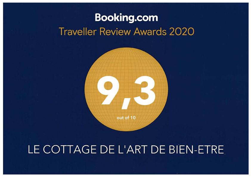 Traveller Review Awards 2020 Cottage bien-être du Tarn